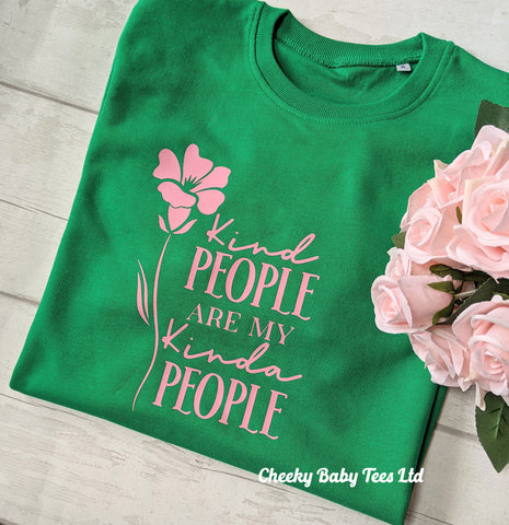 Kind People Ladies' Sweatshirt