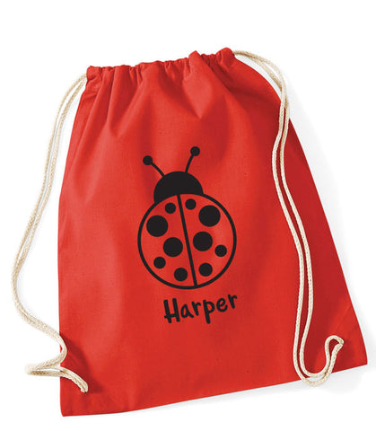Ladybird Personalised PE Bag
