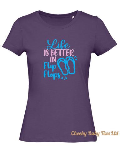 Life is Better in Flip Flops T Shirt