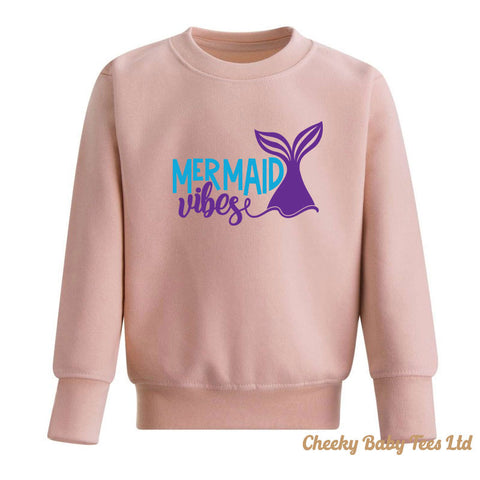 Mermaid Vibes Kids' Sweatshirt