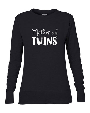Mother of Twins Ladies' Sweatshirt