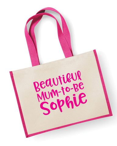 Mum To Be Personalised Tote Bag
