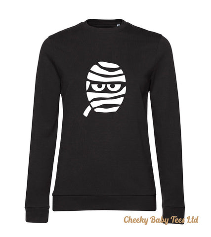 Halloween Mummy Ladies' Sweatshirt