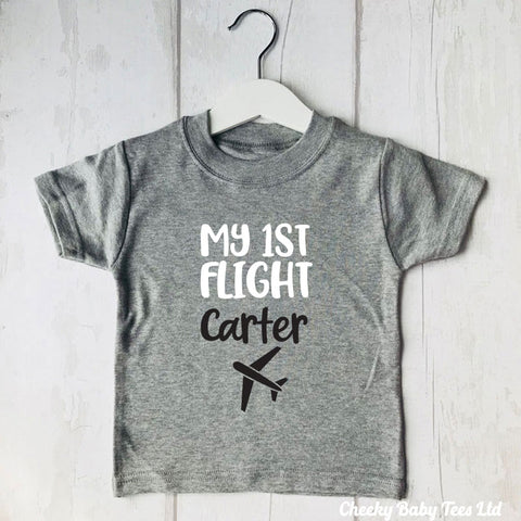 Personalised First Flight T-Shirt