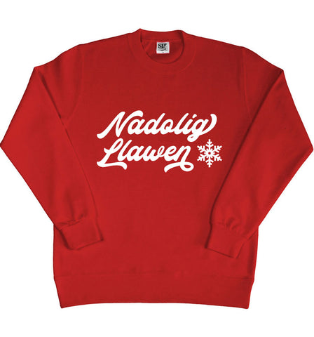Ladies' Welsh Christmas Sweater