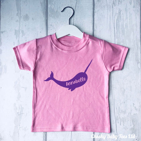 Narwhal Personalised T Shirt