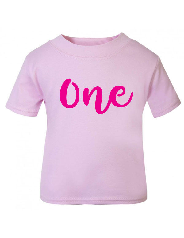 Birthday Age 1 One T Shirt