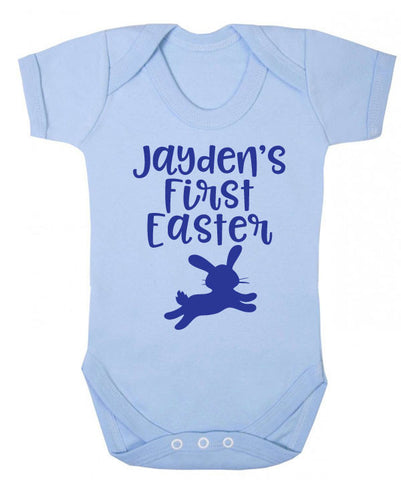 Personalised First Easter Babygrow