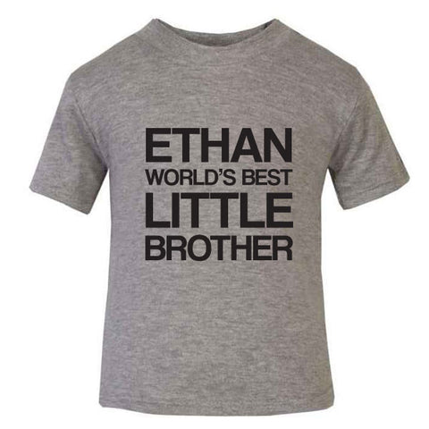 Personalised Little Brother T-Shirt