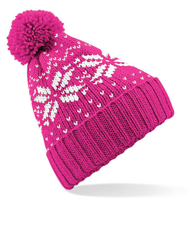 Kids' Fair Isle Bobble Hat