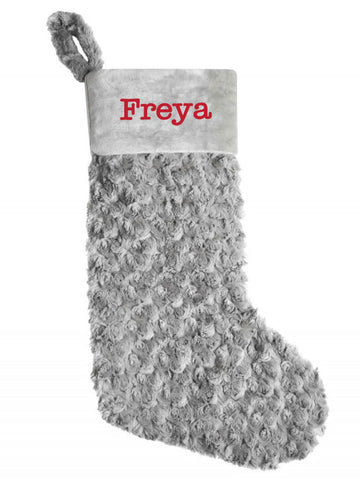 Personalised Plush Christmas Stocking