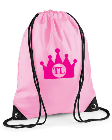 Princess Crown Personalised Swimming Bag