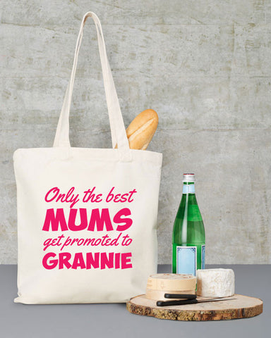 Promoted to Grannie Shopping Bag