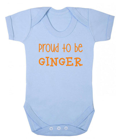 Proud to be Ginger Babygrow