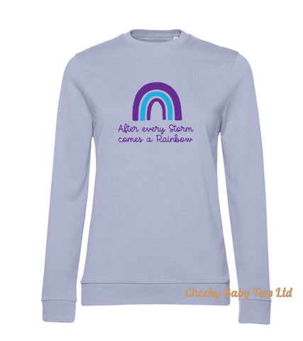 Rainbow After Storm Ladies' Sweatshirt