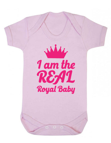 I'm the Real Royal Baby Babygrow