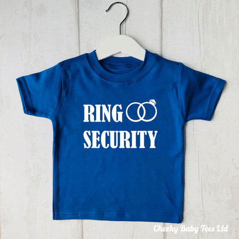 Ring Security Kids' T Shirt