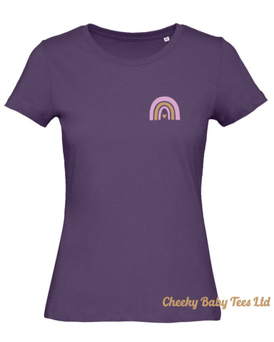Ladies' Mini Rainbow T Shirt