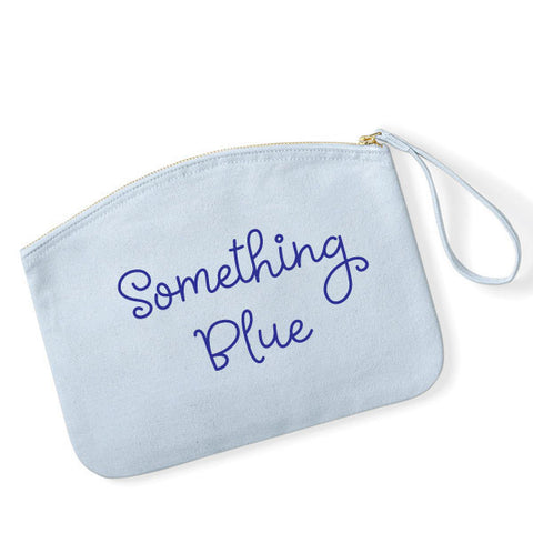 Something Blue Wedding MakeUp Bag