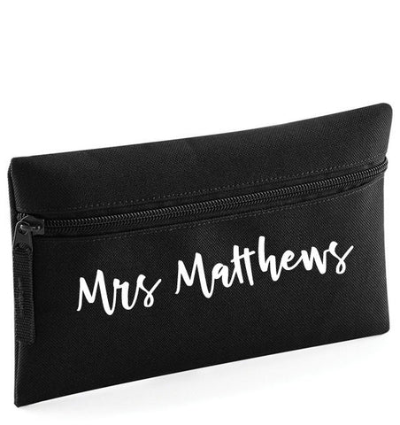 Teacher Personalised Pencil Case