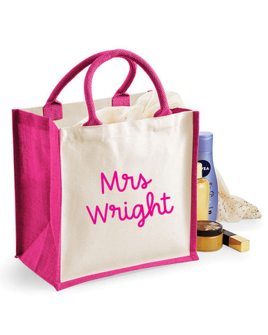 Personalised Teacher Gift Tote Bag