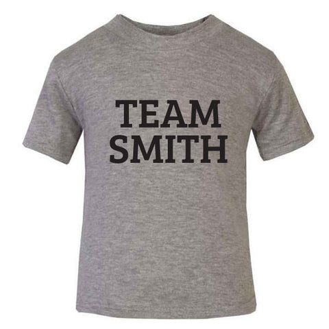 Personalised Team Name Baby T-Shirt