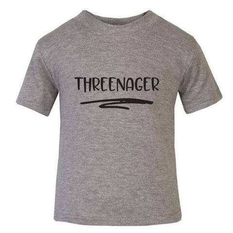Threenager 3 Year Old T Shirt