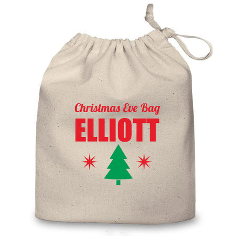 Personalised Christmas Eve Bag (Tree)