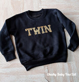 TWIN Animal Print Kids' Sweatshirt
