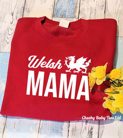 Welsh MAMA Ladies' Sweater