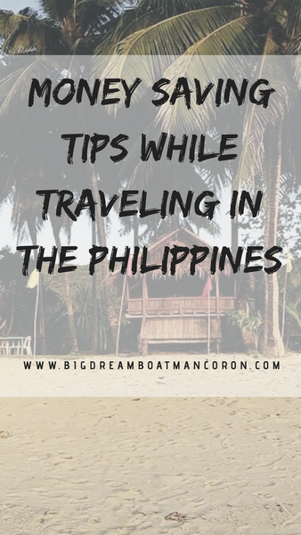 Money Saving Tips while Travelling in the Philippines