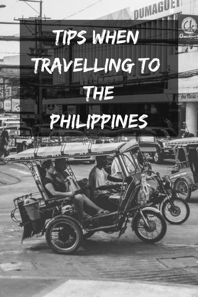 Tips when travelling to the Philippines