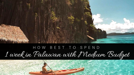 One Week In Palawan Paradise: Medium Budget $1000pp