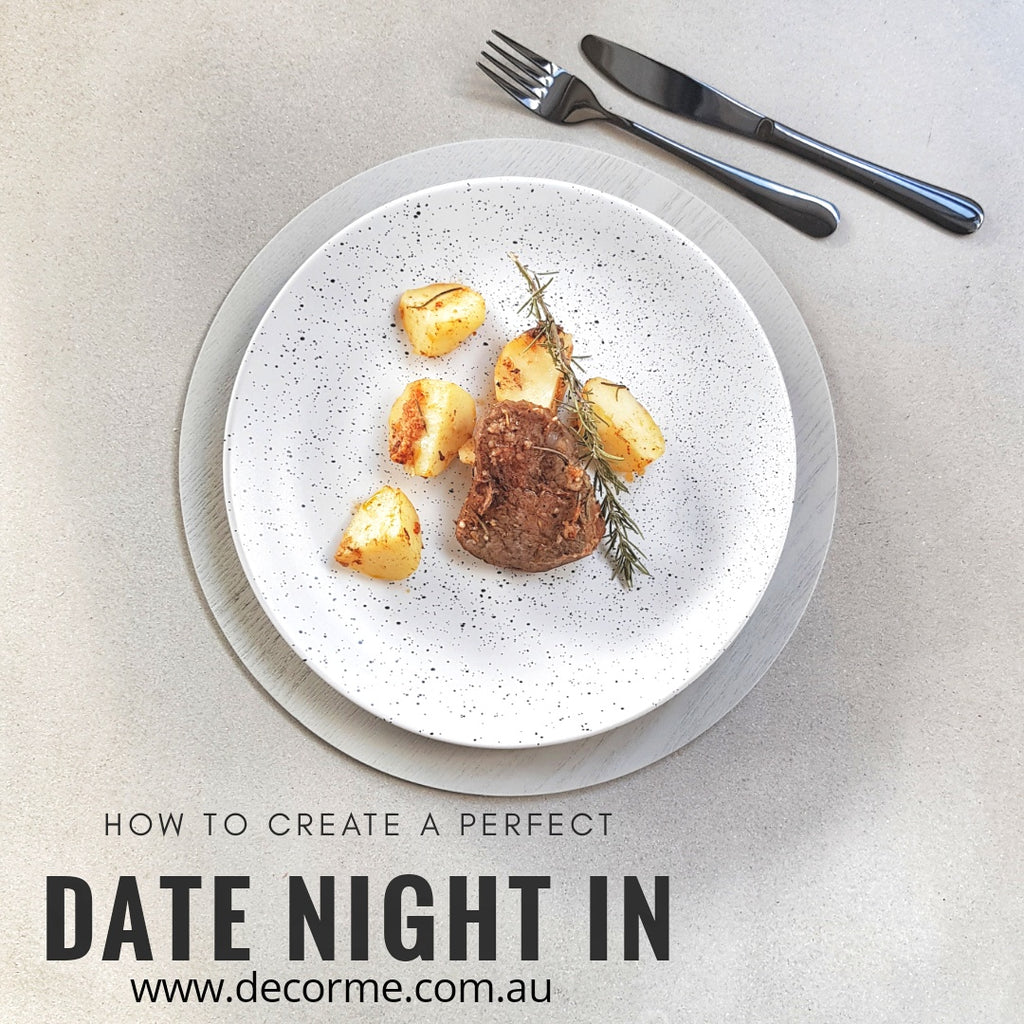 HOW TO CREATE A PERFECT DATE NIGHT IN - IN STYLE