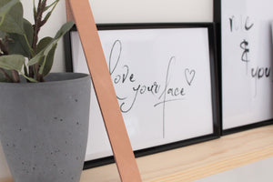 LOVE YOUR FACE - wall art