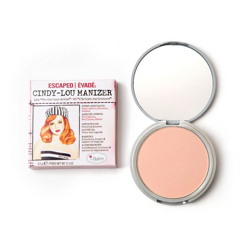 theBalm Cindy Lou Manizer Rose Highlighter, highlighter, London Loves Beauty