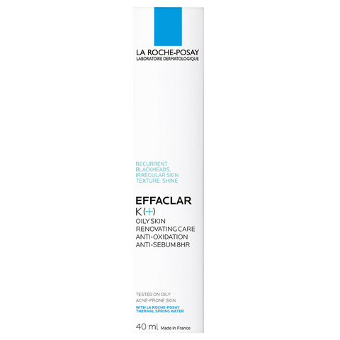 La Roche-Posay Effaclar K(+) Anti-Blackhead Moisturiser, 40ml, Skin Care, London Loves Beauty