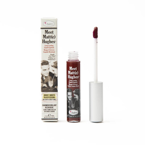 theBalm Liquid Lipstick Meet Matt(e) Hughes, 7.4ml, liquid lipstick, London Loves Beauty