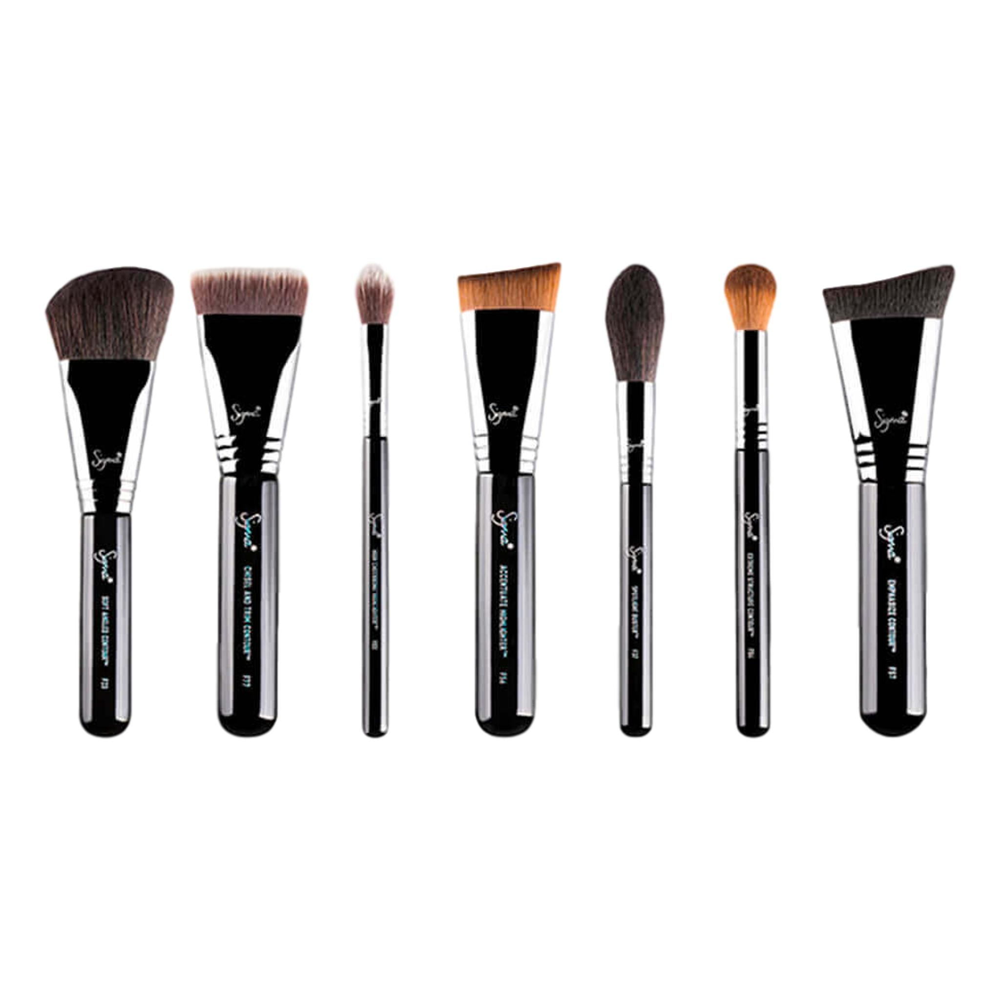 Sigma Highlight and Contour Brush Set, Brush Set, London Loves Beauty