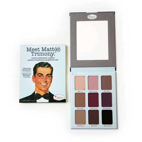 theBalm Meet Matt(e)Trimony EyeShadow Palette, eyeshadow palette, London Loves Beauty