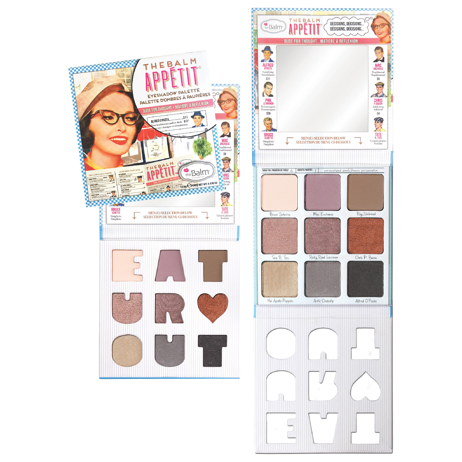theBalm Appetit Eyeshadow Palette, eyeshadow palette, London Loves Beauty