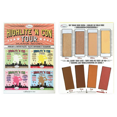 theBalm Highlite 'N Con Tour Face Palette, Face Palette, London Loves Beauty