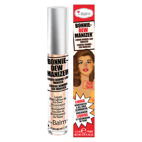 theBalm Bonnie-Dew Manizer Liquid Highlighter, highlighter, London Loves Beauty