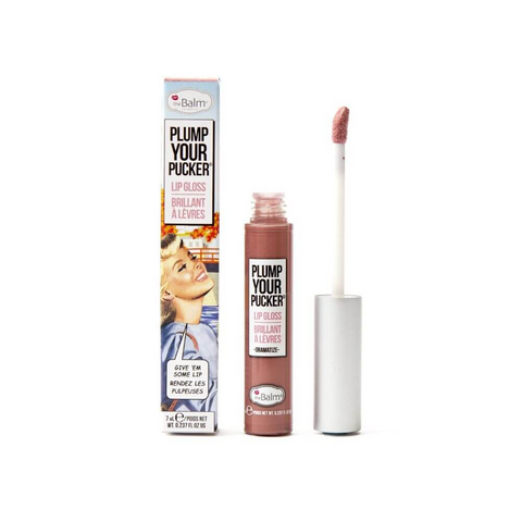 theBalm Plump Your Pucker Lip Gloss, lip gloss, London Loves Beauty