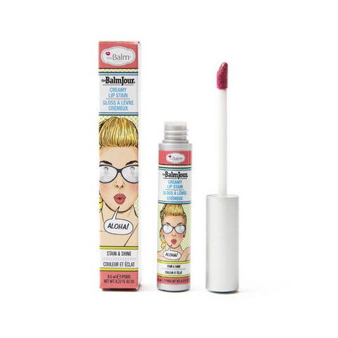 theBalm theBalmJour Creamy Lip Stain, 6.5ml, liquid lipstick, London Loves Beauty