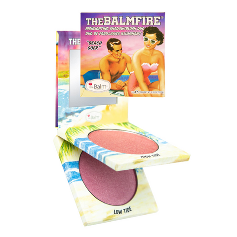 theBalm theBalmFire Highlighting Shadow/Blush Duo, Blush, London Loves Beauty