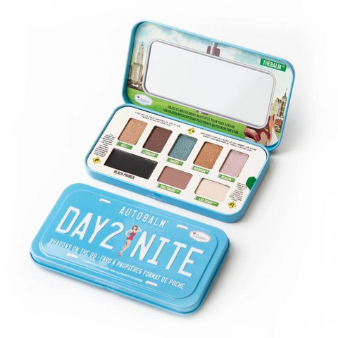 theBalm Autobalm Day 2 Nite, eyeshadow palette, London Loves Beauty