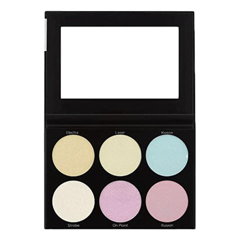 BH COSMETICS Blacklight Highlight 6 Colour Palette, Highlighters, London Loves Beauty