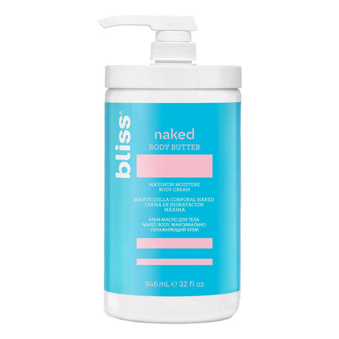 Bliss Naked Body Butter, 32floz, Body Butter, London Loves Beauty