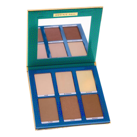 Dominic Paul Cosmetics Contour Palette 6 x 3g - Or 18g